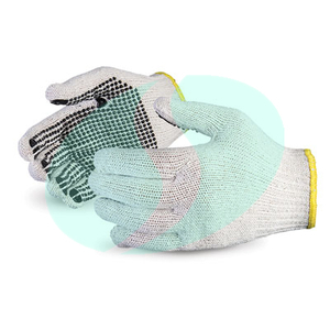 TCDP02 cotton knitted gloves